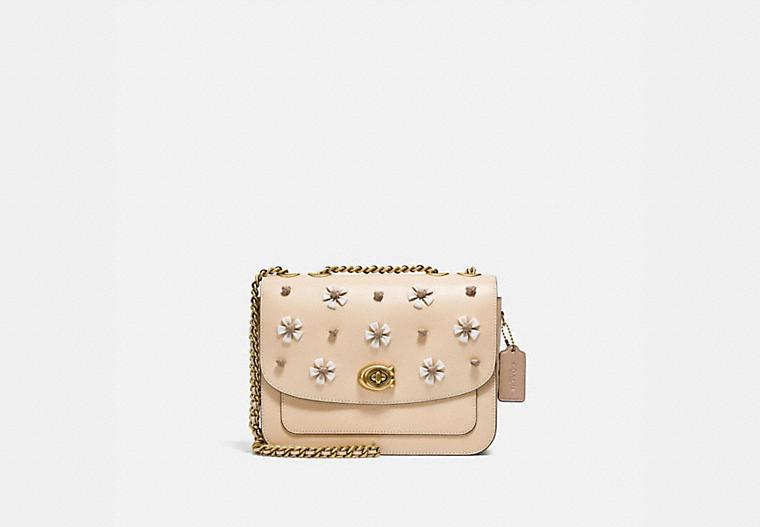 Madison Shoulder Bag With Tea Rose Knot - Coach Canada.