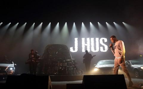 J Hus rose to fame following his debut album, Common Sense, in 2016  - Credit:  Burak Cingi