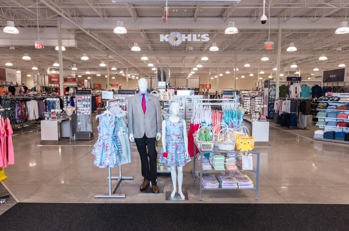 A smaller-format Kohl's store.