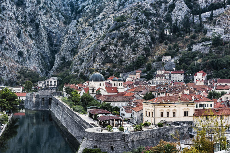 In Kotor, a medieval walled city in Montenegro, there have been no known cases of the coronavirus. Source: Getty Images