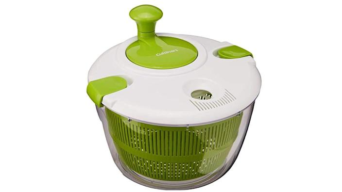 This salad spinner is super helpful for washing your veggies.