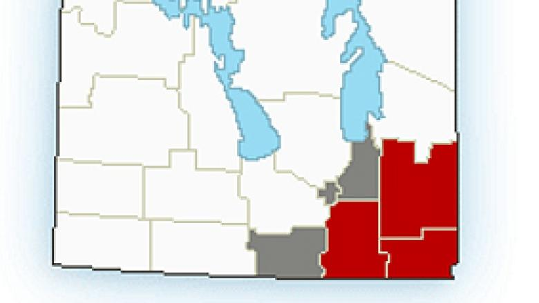 Snowfall warning issued for parts of southern Manitoba