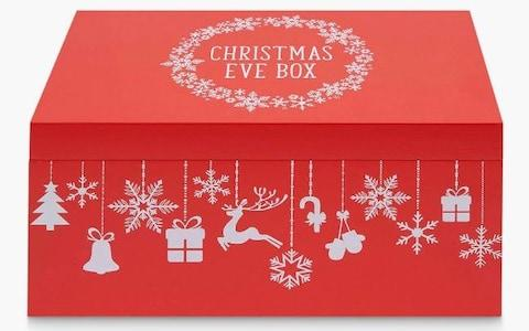John Lewis & Partners Christmas Eve Box, Red - Credit: John Lewis & Partners