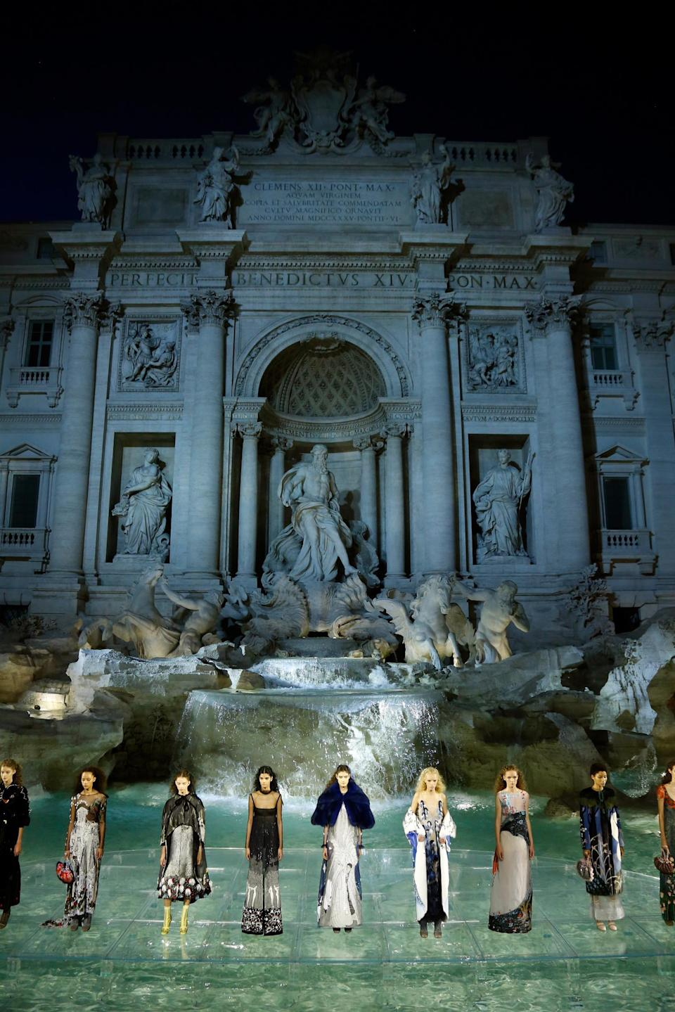 Fendi Couture AW 2016 (Getty Images )Getty Images
