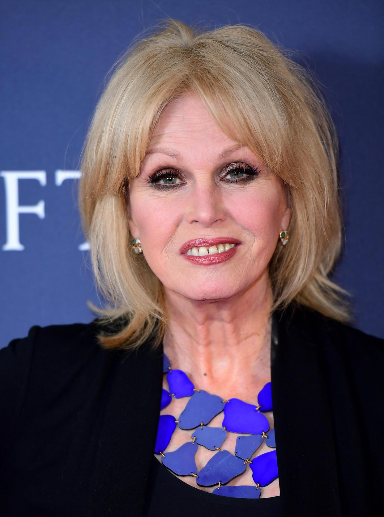 Actress and campaigner Joanna Lumley raised the issue at a meeting with Environment Secretary George Eustice (Ian West/PA)