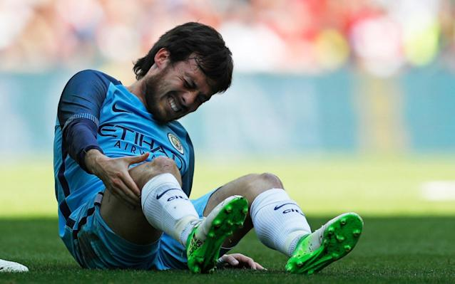 <span>David Silva is a doubt for tonight's clash</span>