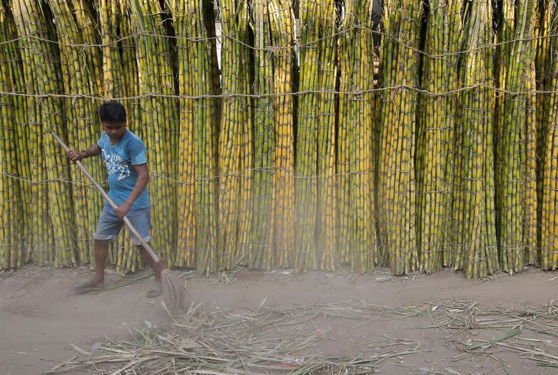 India's sugar exports rise on weak rupee - industry