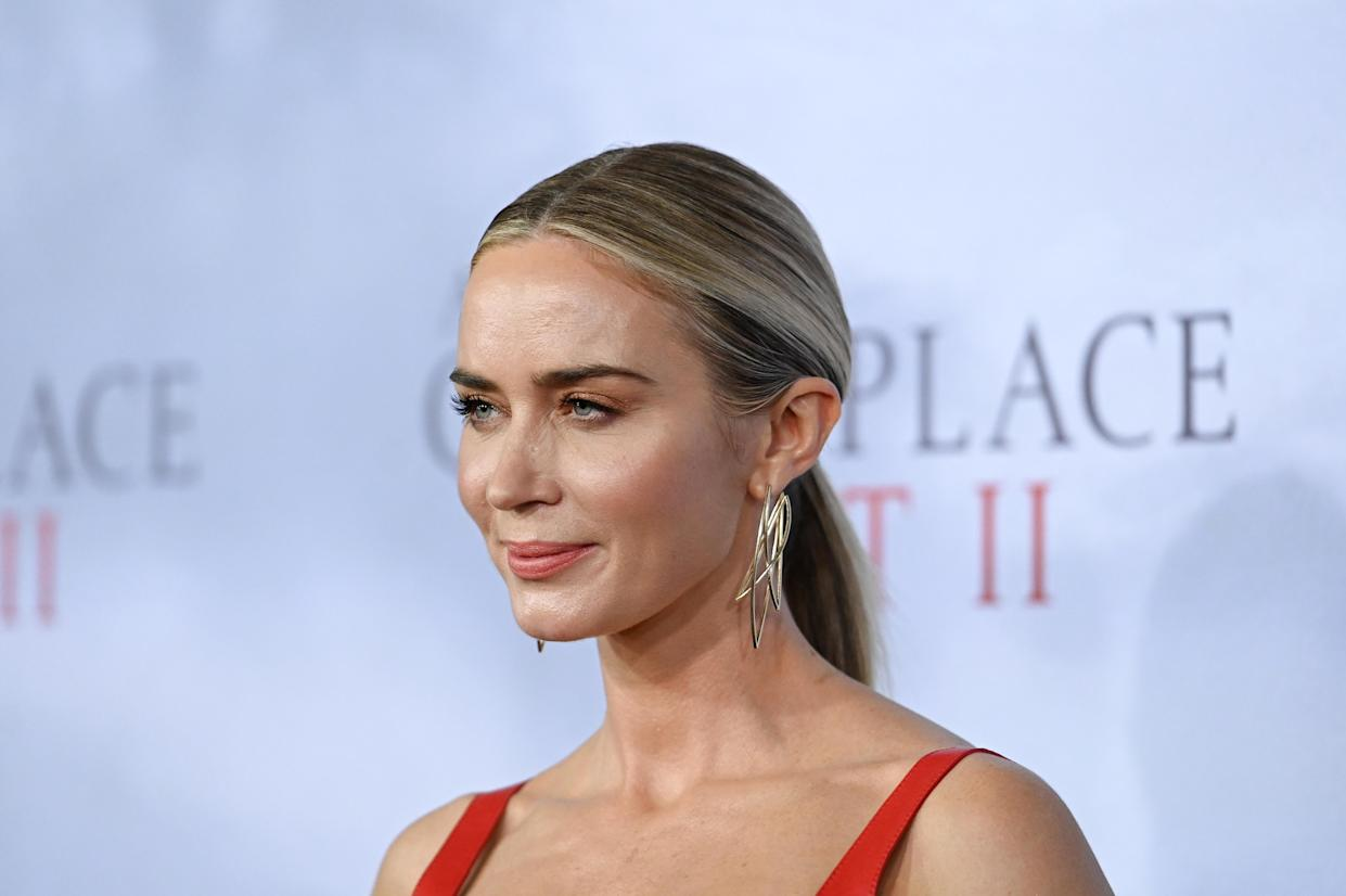Emily Blunt has explained why she turned down the Black Widow role. (Photo by Mike Coppola/Getty Images)