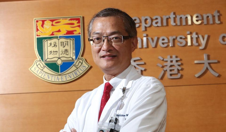 Professor Lo Chung-mau, chief executive of HKU-Shenzhen Hospital. Photo: Felix Wong