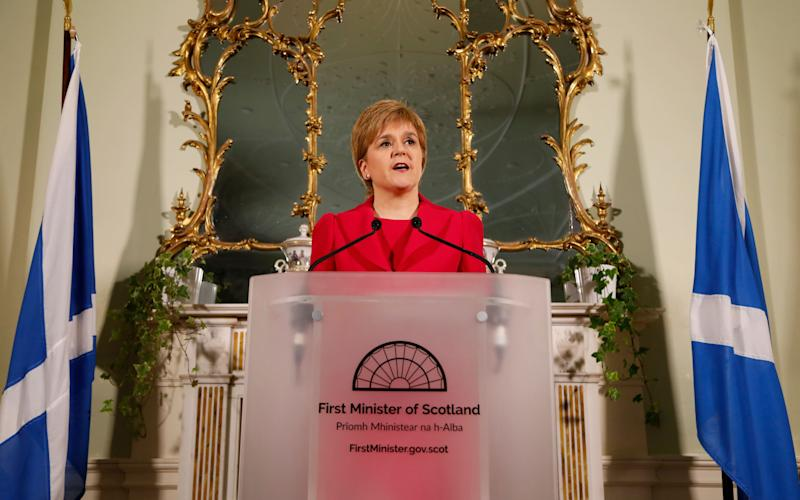 The First Minister - Credit: SG