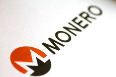 FILE PHOTO: The Monero cryptocurrency logo is seen in this illustration photo January 8, 2018.    REUTERS/Thomas White//File Photo
