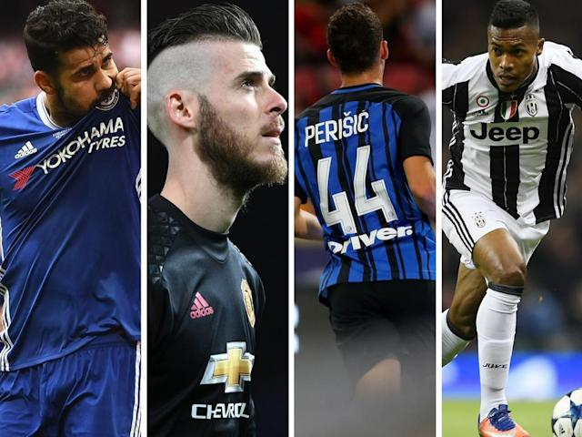 Costa, de Gea, Perisic and Alex Sandro – all possible movers and shakers