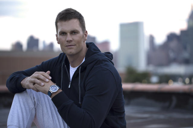 Tom Brady designed a Tag Heuer watch. (Photo: Courtesy of Tag Heuer)