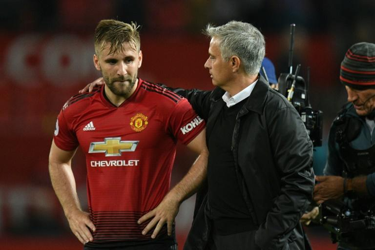 Luke Shaw has impressed Manchester United manager Jose Mourinho this season