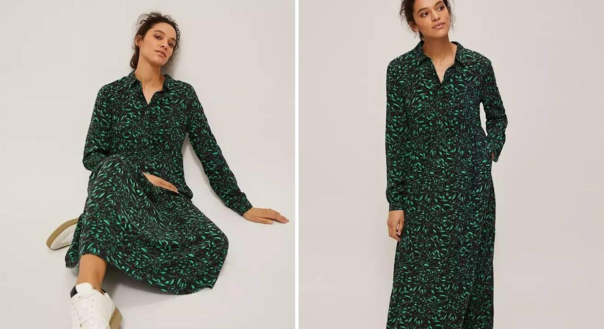 Dress of the day: An affordable animal print dream. (John Lewis)