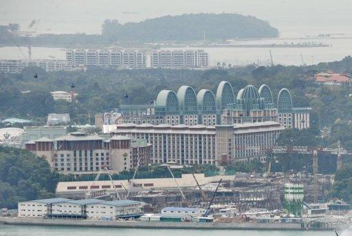 The Sentosa casino and leisure complex in Singapore. A Manila court has blocked the export of 25 dolphins which were to have been sent to Resorts World Sentosa, a giant casino resort in Singapore, according to a copy of the order