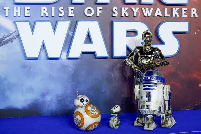 "FILE PHOTO: Premiere of ""Star Wars: The Rise of Skywalker"" in London"