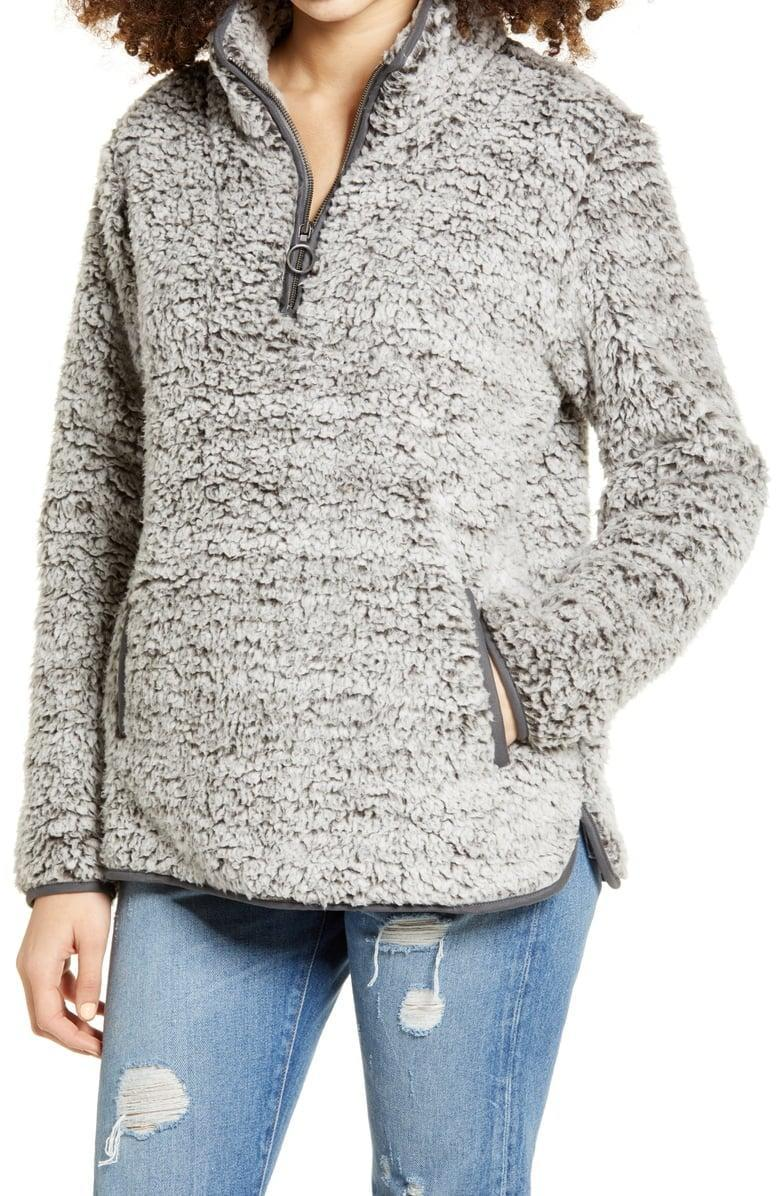 <p><span>Thread &amp; Supply Wubby Fleece Pullover</span> ($30, originally $78)</p>