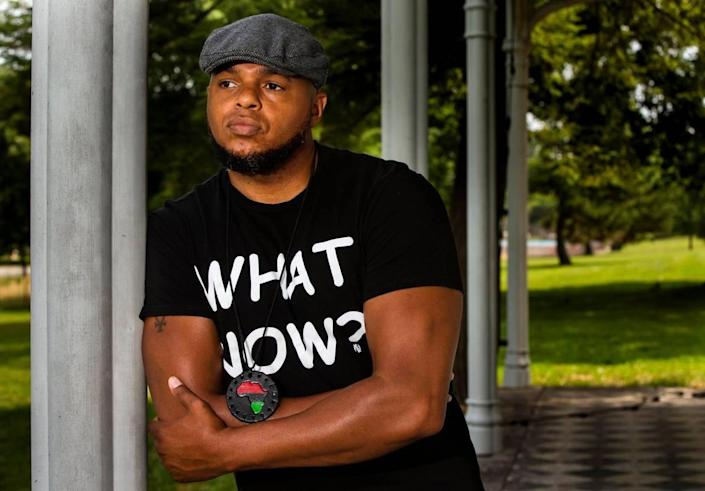 Hip-hop artist Devine Carama has called Lexington home all his life, and says he is dedicated to activism within the community to create a safer, more inclusive Lexington for younger generations of Black people growing up in the city. Carama uses his broad spectrum of connections within the community in congruence with his music to amplify his activism.