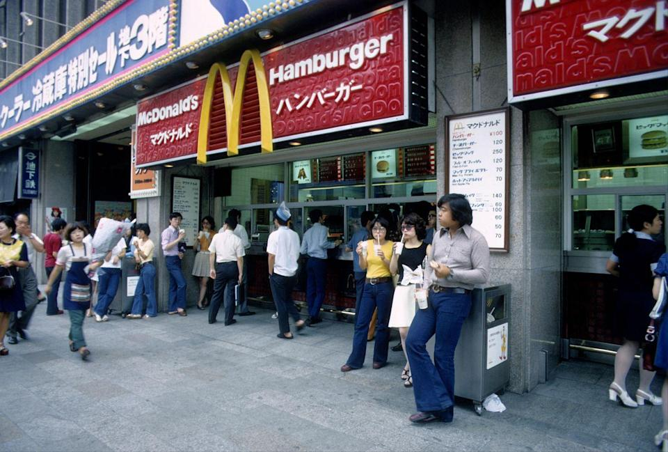 <p>McDonald's expanded to Japan in 1971. Now, the country boasts around 3,000 McDonald's locations as well as an array of unique menu items including the Mega Teriyaki Burger, Cheese Tsukimi Burger, and Chicken Tatsuta. </p>