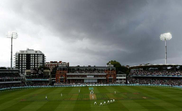 India were unprepared for a change in the weather which brought classically English overcast conditions for the second test at Lord's when the host's unleashed their king of swing, James Anderson, bowling with  fielders crowded round the batsman
