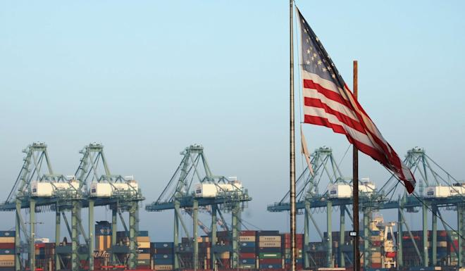 Tariffs have affected the volume of Asian cargo coming into the US, officials say. Photo: Getty Images/AFP