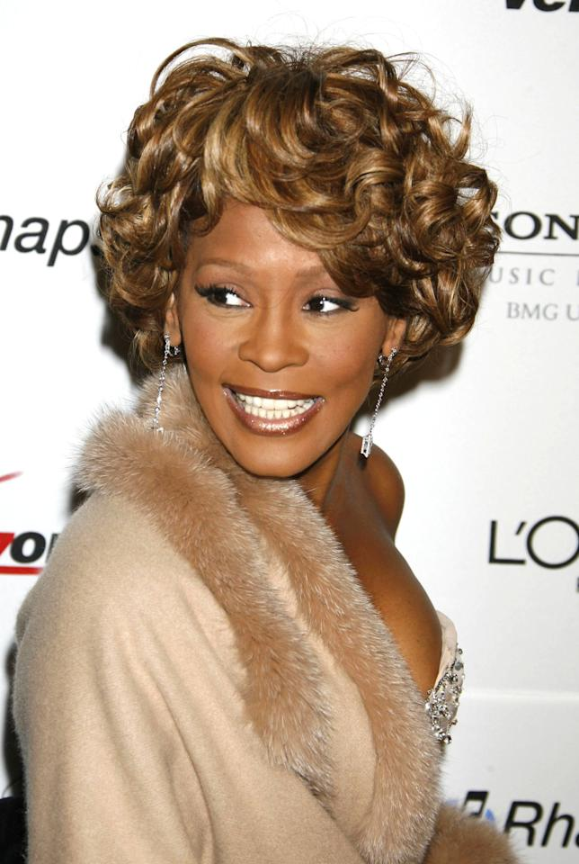 ***File Photo*** * WHITNEY HOUSTON DEAD AT 48 WHITNEY HOUSTON has died at the age of 48.   The How Will I Know singer was working on a major chart and film comeback after years of drug issues when she passed away on Saturday (11Feb12).   The cause of her death was unknown when WENN went to press.   More details and obituary to follow. (KL/WN/KL)   Whitney Houston 2007 Clive Davis Pre-GRAMMY Awards Party held at the Beverly Hilton Hotel Los Angeles, California - 10.02.07 ***NO USA SALES*** Mandatory Credit: James Murphy/Hottwire.net/WENN.com
