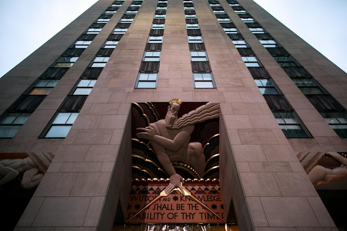 FBI officials reportedly raided the offices of Michael Cohen at 30 Rockefeller Plaza in Manhattan, April 9, 2018. (Photo: Drew Angerer/Getty Images)