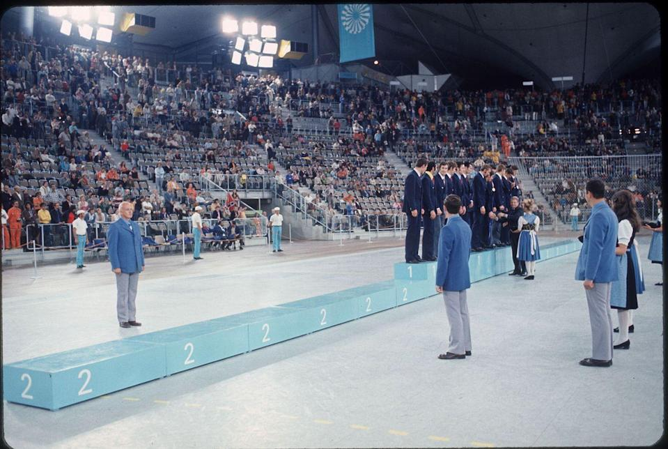 <p>In protest, the U.S. team refused to accept silver, boycotting the medal ceremony instead of standing beneath the Soviets on the podium. </p>