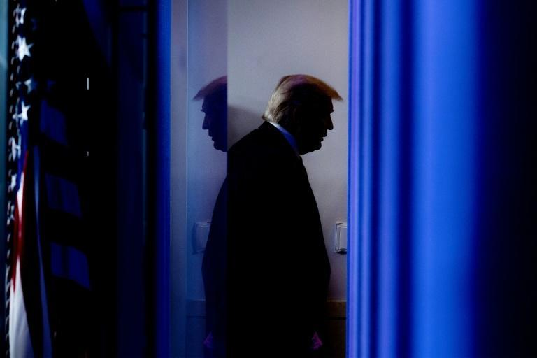 US President Donald Trump (pictured April 2020) and his supporters have repeatedly alleged that his loss to Joe Biden was the result of cheating, though those claims have been rejected by US courts and election officials