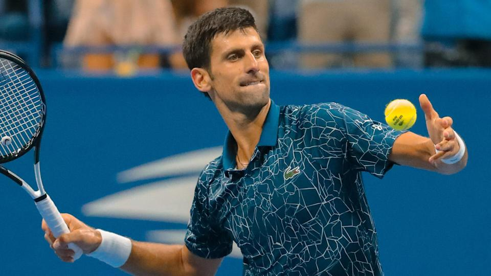 """<p><span>Novak Djokovic is one-third of the sacred triumvirate that has dominated men's tennis so thoroughly from Wimbledon 2003 through Wimbledon 2021 that it has its own fraternity — the Big 3. Rafael Nadal, Roger Federer and Djokovic have won 58 of 69 Grand Slam tournaments, according to Statista. Djokovic himself now has 20 Grand Slam titles, tying him with the other two to become the only three men ever to win 20 majors. The Serbian's $144 million in career prize money is the biggest haul in the history of the sport. </span></p> <p><a href=""""https://www.gobankingrates.com/net-worth/sports/what-is-novak-djokovic-net-worth/?utm_campaign=1130237&utm_source=yahoo.com&utm_content=41&utm_medium=rss"""" rel=""""nofollow noopener"""" target=""""_blank"""" data-ylk=""""slk:Take a closer look at his total net worth."""" class=""""link rapid-noclick-resp"""">Take a closer look at his total net worth.</a></p> <div class=""""listicle--slide--content""""> <p><em><strong>Who's Richer:<a href=""""https://www.gobankingrates.com/net-worth/sports/who-is-richer-sports-stars-or-significant-others/?utm_campaign=1130237&utm_source=yahoo.com&utm_content=42&utm_medium=rss"""" rel=""""nofollow noopener"""" target=""""_blank"""" data-ylk=""""slk:These Sports Stars or Their Significant Others?"""" class=""""link rapid-noclick-resp""""> These Sports Stars or Their Significant Others?</a></strong></em></p> </div> <p><small>Image Credits: Leonard Zhukovsky / Shutterstock.com</small></p>"""