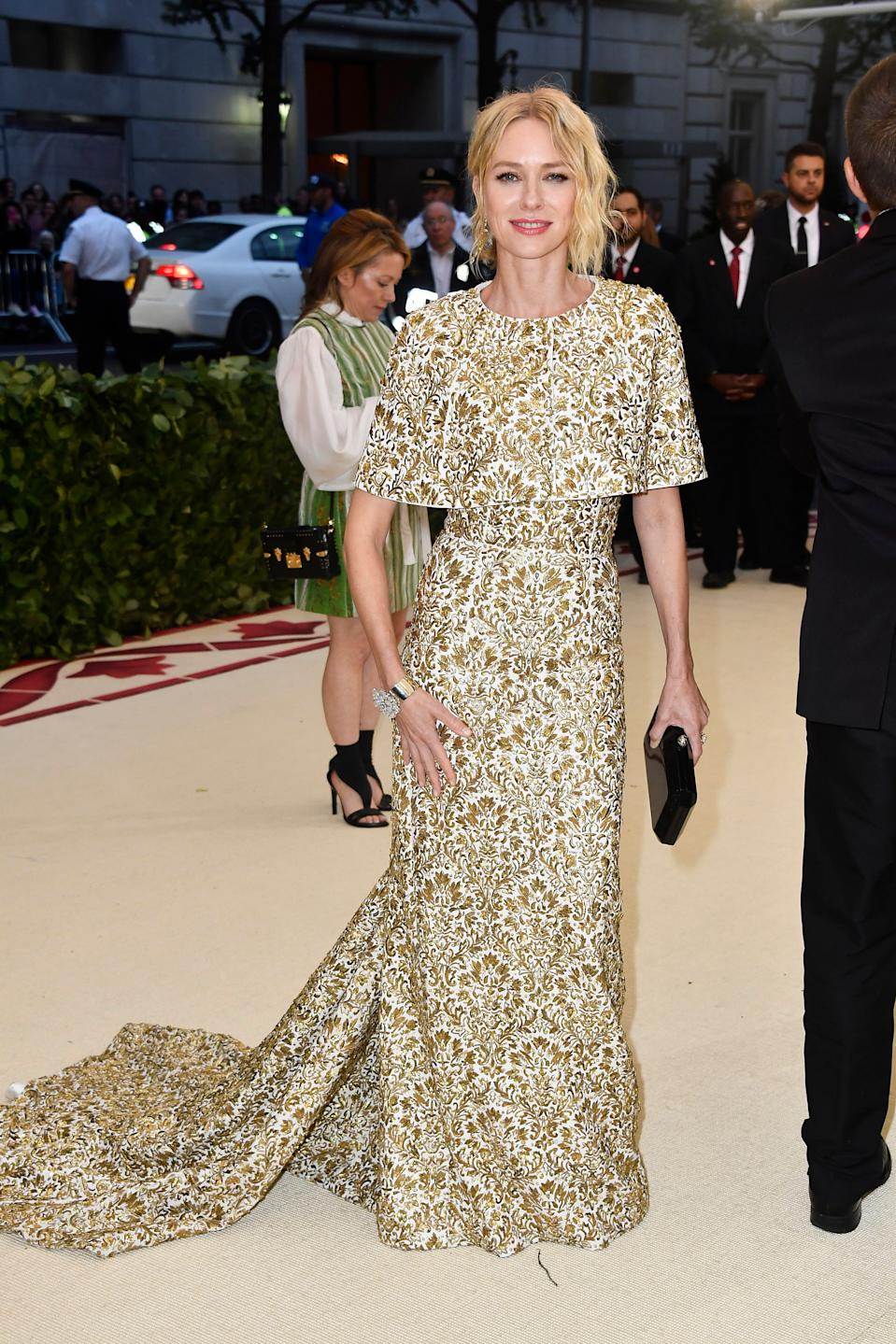 """<h1 class=""""title"""">Naomi Watts in Michael Kors Collection</h1><cite class=""""credit"""">Photo: Getty Images</cite>"""