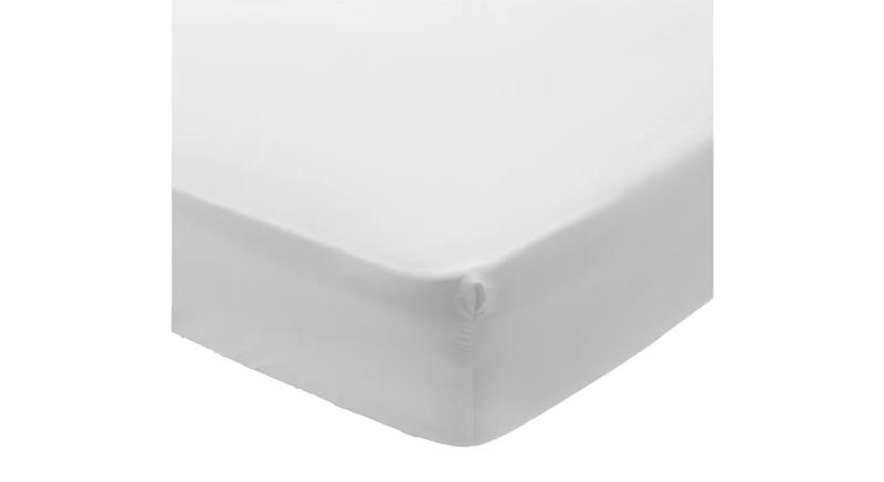 400TC Egyptian Cotton 35cm Fitted Sheet