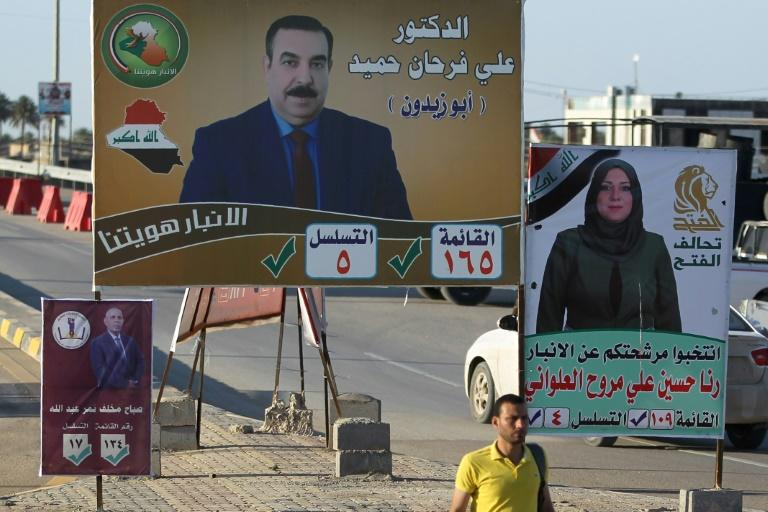 Many of the new candidates running for office in the vast desert province of Anbarare eager to push out lawmakers they believe minimised the danger of -- or even sympathised with -- the Sunni extremists that stormed across the country in 2014