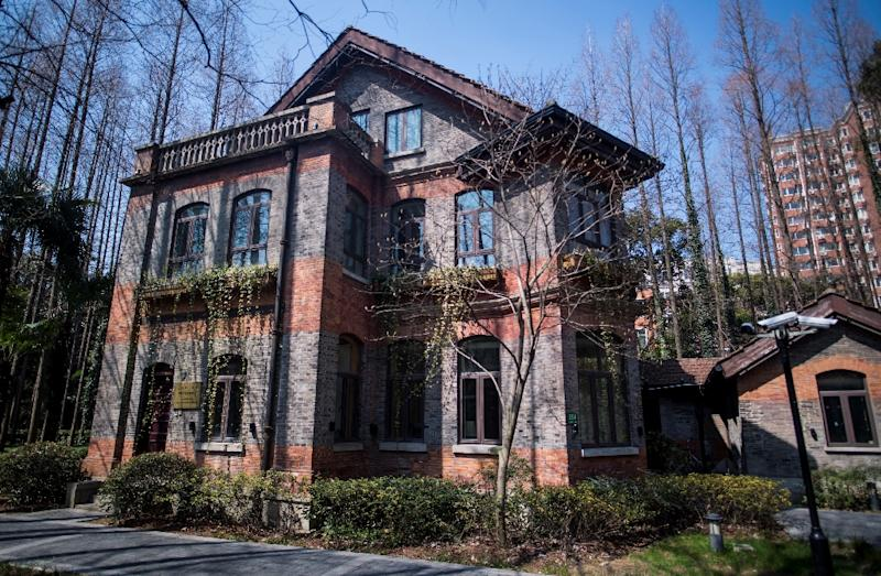 The American Centers for Cultural Exchange (ACCs), such as this one in Shanghai, are a network of US government-funded language and cultural facilities (AFP Photo/Johannes EISELE)