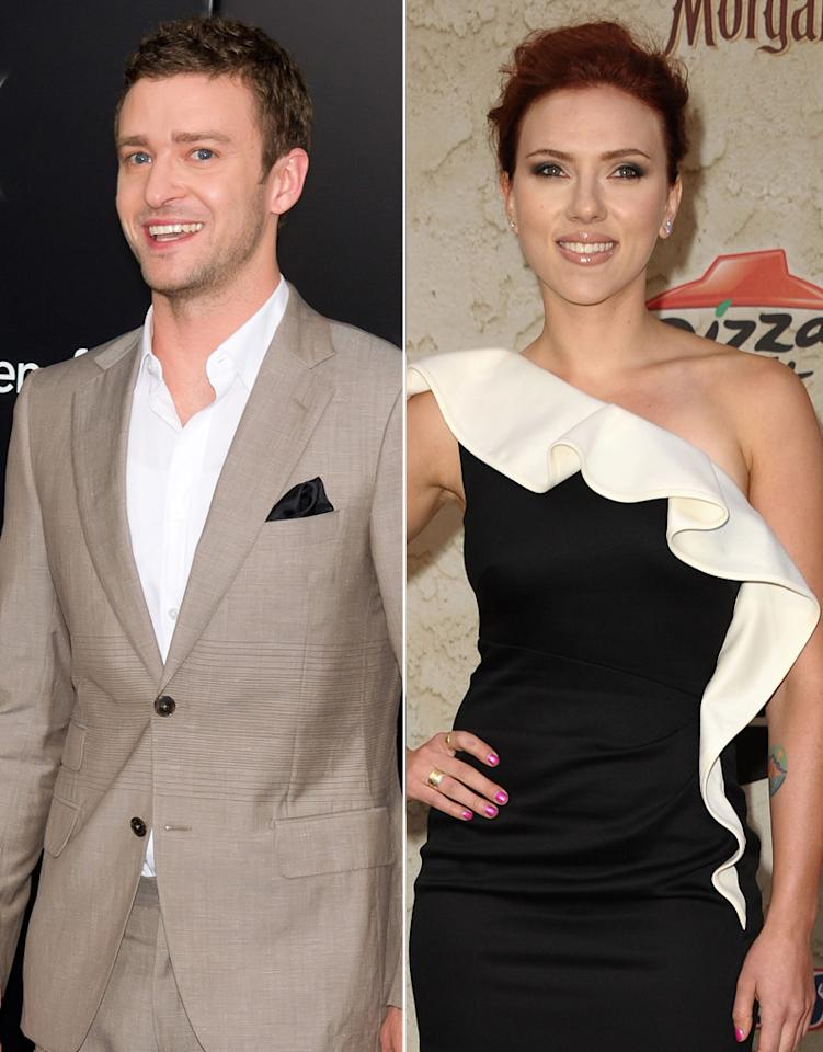 """<i>Us Weekly</i> reveals that Justin Timberlake recently """"spent the night"""" with Scarlett Johansson. The magazine reports the two were first """"hardcore flirting"""" at the New York hotspot 1Oak before ending up in the early morning hours at Johansson's penthouse apartment. For what Timberlake told Jessica Biel when she found out, and whether it was a one-night fling, see what a Johansson confidante leaks to <a href=""""http://www.gossipcop.com/justin-timberlake-scarlett-johansson-apartment-pad-hooking-up-flirting/"""" target=""""new"""">Gossip Cop</a>."""