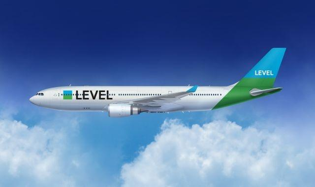 Level's first flight took off Thursday afternoon for a 13-hour flight to Los Angeles with a 314-seater Airbus 330