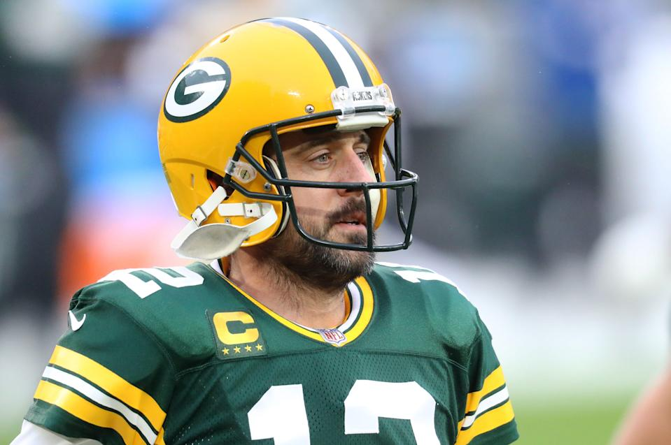 Aaron Rodgers' days in green and gold might be numbered.