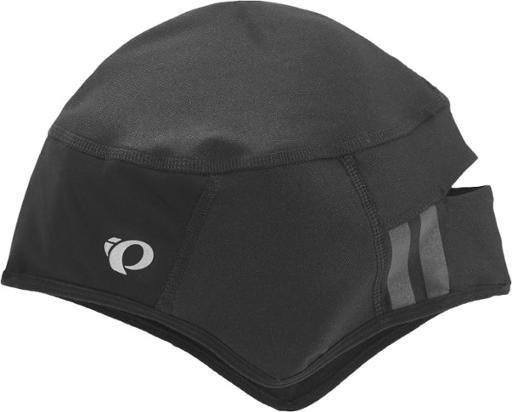 """<p><strong>$30</strong> <a class=""""body-btn-link"""" href=""""https://www.rei.com/product/102669/pearl-izumi-barrier-skull-cap"""" target=""""_blank"""">Buy Now</a></p><p>With a snug fit that's cut to cover your ears and forehead without cutting into your field of vision, the Skull Cap is as minimalist as they come. P.R.O. Thermal Dry fabric wicks sweat and keeps your noggin warm, while a P.R.O. Barrier panel on the forehead resists wind and rain. A ponytail port at the back earns this cap major points.</p>"""