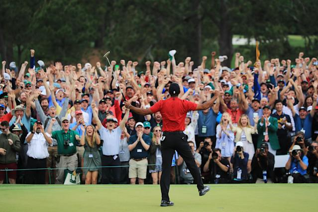 Masters-winning Tiger is the best Tiger. (Photo by David Cannon/Getty Images)
