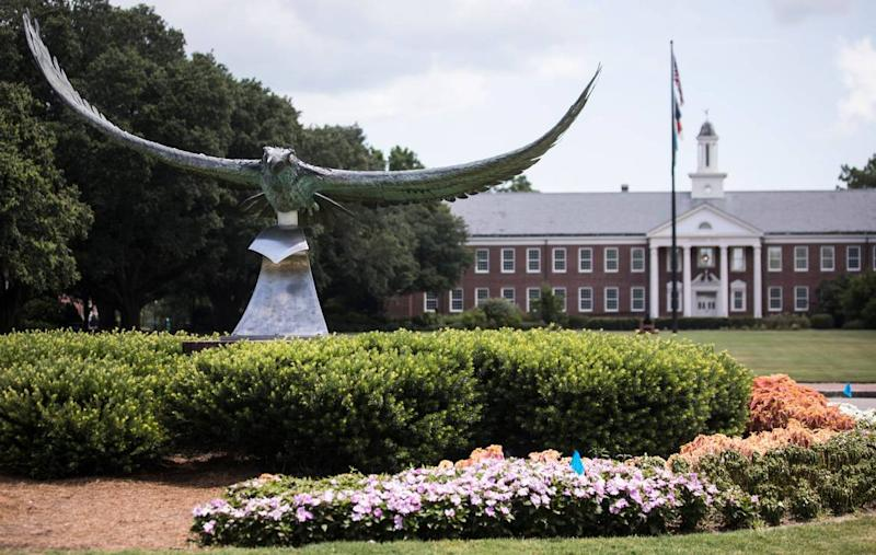 UNC Wilmington to move Black Lives Matters banners to art exhibit, chancellor says