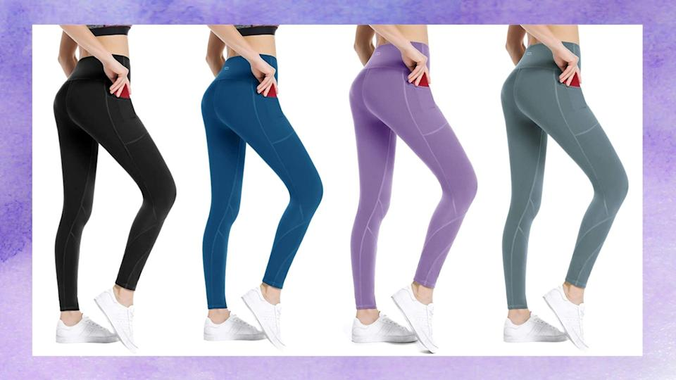 Along Fit High Waist Leggings are available on Amazon from $25 (originally $29)