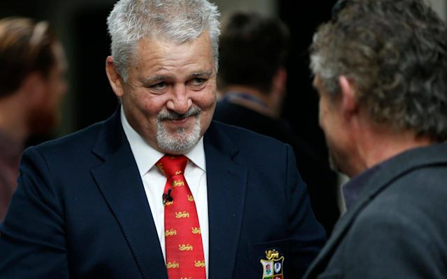 Warren Gatland, the British & Irish Lions head coach, had a couple of rabbits up his sleeve - REUTERS