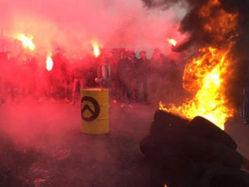 French movement known for Calais Jungle protests has spread across Europe and beyond