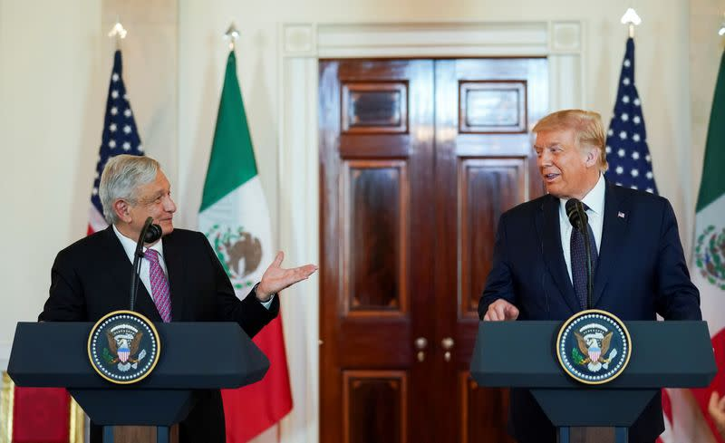 Lopez Obrador says Trump has 'completely changed' attitude toward Mexicans