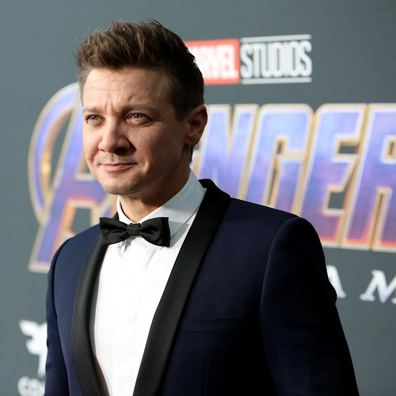 "LOS ANGELES, CA - APRIL 22: (EDITORS NOTE: Retransmission with alternate crop.) Jeremy Renner attends the Los Angeles World Premiere of Marvel Studios' ""Avengers: Endgame"" at the Los Angeles Convention Center on April 23, 2019 in Los Angeles, California. (Photo by Jesse Grant/Getty Images for Disney)"