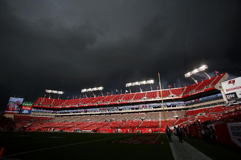 Tampa Bay's home game against Chicago will go on as scheduled