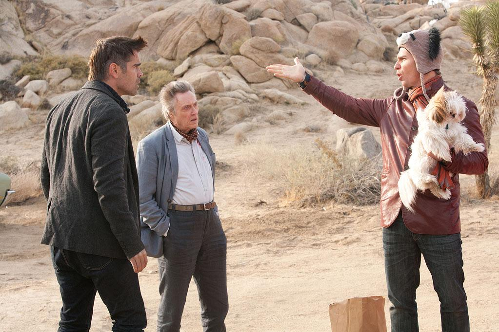 """ Seven Psychopaths "" Release date: October 12 Starring: Sam Rockwell, Woody Harrelson and Christopher Walken"