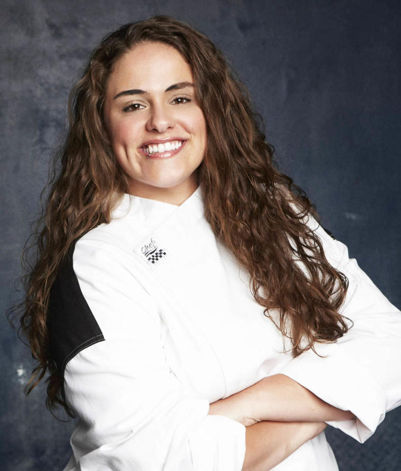 """HELL'S KITCHEN: Amanda Giblin (Orange County, NY) is a contestant on Season 11 of """"Hell's Kitchen."""""""