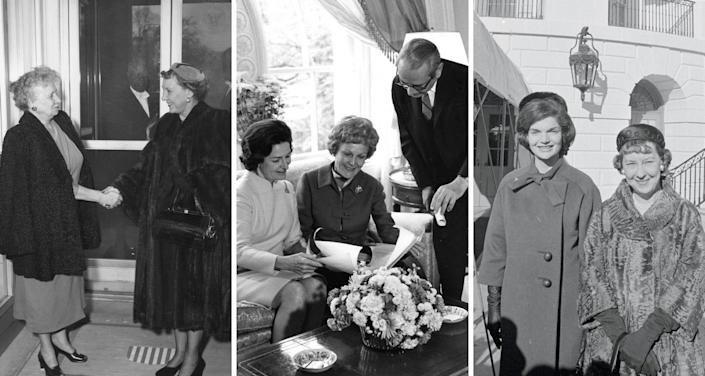 first lady tea and tour traditions